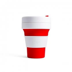 Stojo Pocket Cup RED