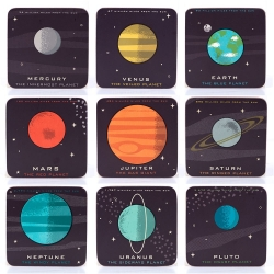 Planetaria Set of 9 Coasters
