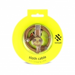SWIPE - Sloth 3in1 Cable