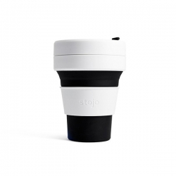 Stojo Pocket Cup 335ml. BLACK