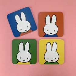 MIFFY - FACE COASTERS