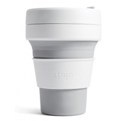Stojo Pocket Cup 335ml. DOVE