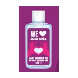 Hand sanitiser 50ml.